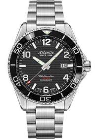 Швейцарские наручные  мужские часы Atlantic 55375.47.65S. Коллекция Worldmaster Diver фото 1
