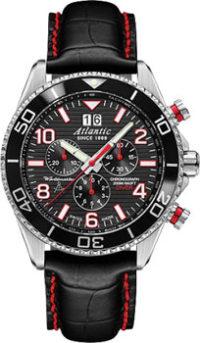 Швейцарские наручные  мужские часы Atlantic 55470.47.65. Коллекция Worldmaster фото 1