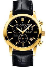 Швейцарские наручные  мужские часы Atlantic 62450.45.61. Коллекция Sealine фото 1
