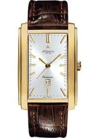 Швейцарские наручные  мужские часы Atlantic 67340.45.21. Коллекция Seamoon фото 1