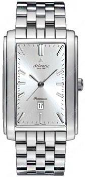 Швейцарские наручные  мужские часы Atlantic 67745.41.21. Коллекция Seamoon фото 1