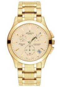 Швейцарские наручные  мужские часы Atlantic 71465.45.31. Коллекция Seahunter фото 1