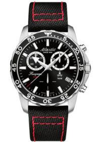 Швейцарские наручные  мужские часы Atlantic 87462.41.61NY. Коллекция Seasport фото 1