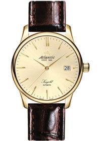 Швейцарские наручные  мужские часы Atlantic 95744.65.31. Коллекция Seagold фото 1