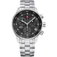 Швейцарские наручные  мужские часы Swiss military SM30052.01. Коллекция Classic фото 1