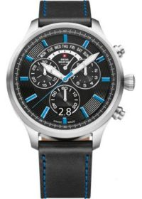 Швейцарские наручные  мужские часы Swiss military SM34038.06. Коллекция Oversized Sports фото 1