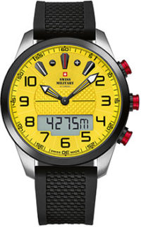 Швейцарские наручные  мужские часы Swiss military SM34061.03. Коллекция Multifunction Outdoor фото 1