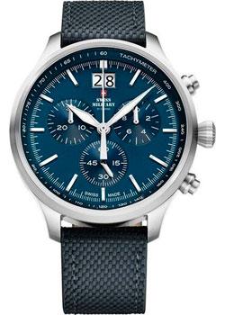 Швейцарские наручные  мужские часы Swiss military SM34064.03. Коллекция Oversized Sports фото 1
