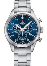 Швейцарские наручные  мужские часы Swiss military SM34076.02. Коллекция Pilot фото 1