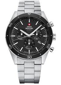 Швейцарские наручные  мужские часы Swiss military SM34079.01. Коллекция Elegant Sports фото 1