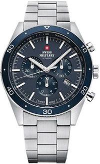 Швейцарские наручные  мужские часы Swiss military SM34079.02. Коллекция Elegant Sports фото 1