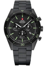 Швейцарские наручные  мужские часы Swiss military SM34079.03. Коллекция Elegant Sports фото 1