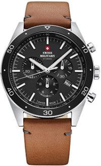 Швейцарские наручные  мужские часы Swiss military SM34079.04. Коллекция Vintage-Style Sports фото 1