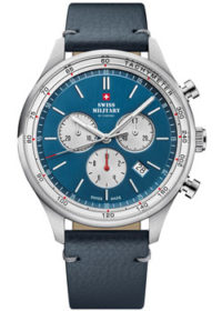 Швейцарские наручные  мужские часы Swiss military SM34081.08. Коллекция Classic фото 1