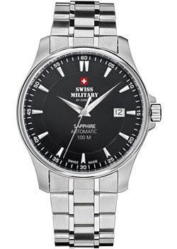 Швейцарские наручные  мужские часы Swiss military SMA34025.01. Коллекция Automatic Collection фото 1