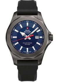 Швейцарские наручные  мужские часы Swiss military SMS34073.08. Коллекция Solar Power фото 1
