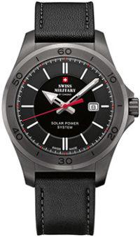 Швейцарские наручные  мужские часы Swiss military SMS34074.04. Коллекция Solar Power фото 1