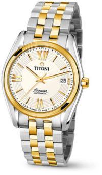 Швейцарские наручные  мужские часы Titoni 83909-SY-342. Коллекция Airmaster фото 1