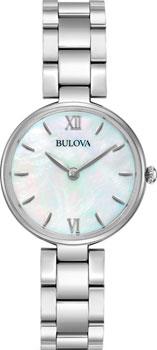 Японские наручные  женские часы Bulova 96L229. Коллекция Classic фото 1