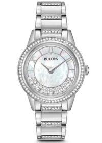 Bulova 96L257 Crystal TurnStyle