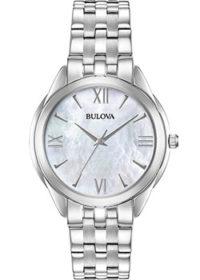 Японские наручные  женские часы Bulova 96L268. Коллекция Classic фото 1