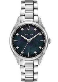 Японские наручные  женские часы Bulova 96P198. Коллекция Sutton фото 1