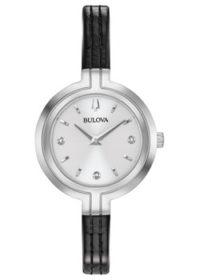 Японские наручные  женские часы Bulova 96P211. Коллекция Rhapsody фото 1
