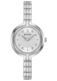 Японские наручные  женские часы Bulova 96P214. Коллекция Rhapsody фото 1
