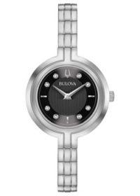 Японские наручные  женские часы Bulova 96P215. Коллекция Rhapsody фото 1