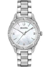 Японские наручные  женские часы Bulova 96R228. Коллекция Sutton фото 1