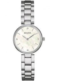 Японские наручные  женские часы Bulova 96S159. Коллекция Diamonds фото 1