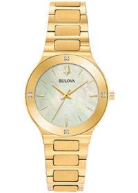 Японские наручные  женские часы Bulova 97R102. Коллекция Milennia фото 1