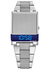 Японские наручные  мужские часы Bulova 96C139. Коллекция Computron фото 1