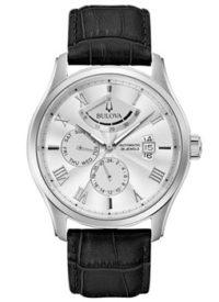 Японские наручные  мужские часы Bulova 96C141. Коллекция Automatic фото 1