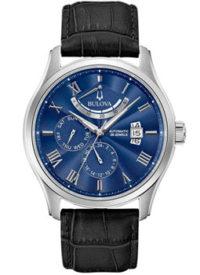 Японские наручные  мужские часы Bulova 96C142. Коллекция Automatic фото 1