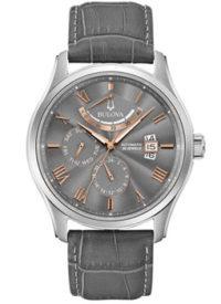 Японские наручные  мужские часы Bulova 96C143. Коллекция Automatic фото 1