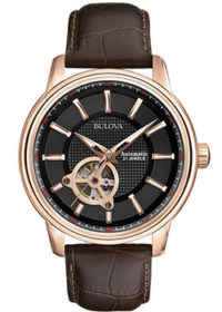 Японские наручные  мужские часы Bulova 97A109. Коллекция Automatic фото 1