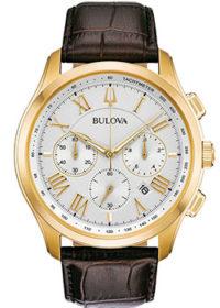 Японские наручные  мужские часы Bulova 97B169. Коллекция Classic фото 1