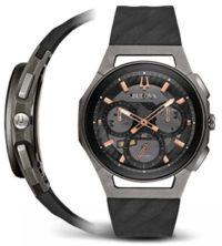 Японские наручные  мужские часы Bulova 98A162. Коллекция CURV фото 1