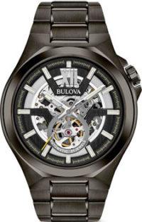 Японские наручные  мужские часы Bulova 98A179. Коллекция Maquina фото 1