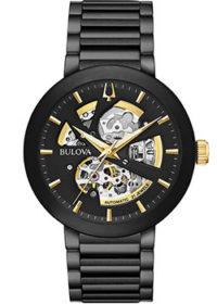 Японские наручные  мужские часы Bulova 98A203. Коллекция Automatic фото 1