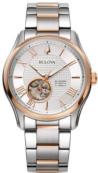 Японские наручные  мужские часы Bulova 98A213. Коллекция Automatic фото 1