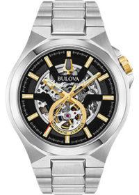Японские наручные  мужские часы Bulova 98A224. Коллекция Maquina фото 1