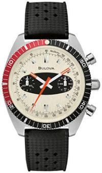 Японские наручные  мужские часы Bulova 98A252. Коллекция Chronograph A фото 1