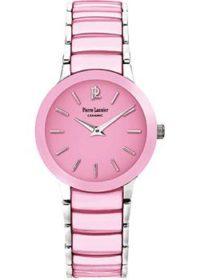 fashion наручные  женские часы Pierre Lannier 005L655. Коллекция Elegance ceramic фото 1