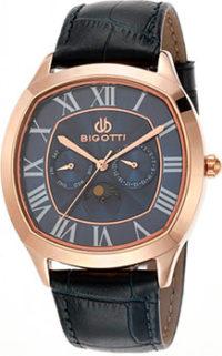 fashion наручные  мужские часы BIGOTTI BG.1.10051-4. Коллекция Napoli фото 1
