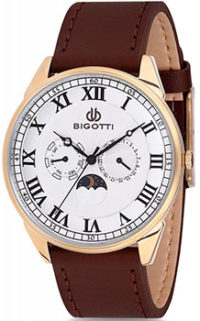 fashion наручные  мужские часы BIGOTTI BGT0246-3. Коллекция Milano фото 1