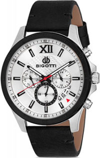 fashion наручные  мужские часы BIGOTTI BGT0263-1. Коллекция Milano фото 1