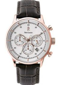 fashion наручные  мужские часы Pierre Lannier 225D404. Коллекция Elegance Chrono фото 1