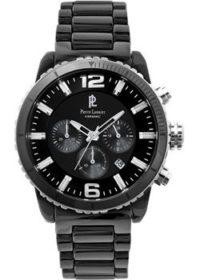 fashion наручные  мужские часы Pierre Lannier 288A439. Коллекция Elegance Ceramic фото 1